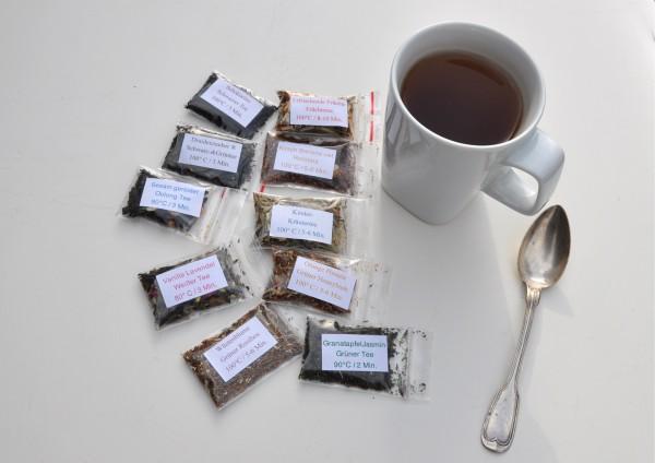 gemischte Sorten Tee je 1 Tasse verschiedene Stückzahlen zur Auswahl