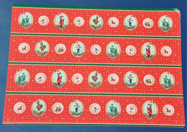 Blick zurück / Weihnachten - Geschenkpapier