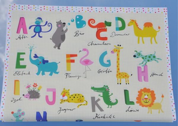 Alphabet von Affe bis Zebra - Geschenkpapier