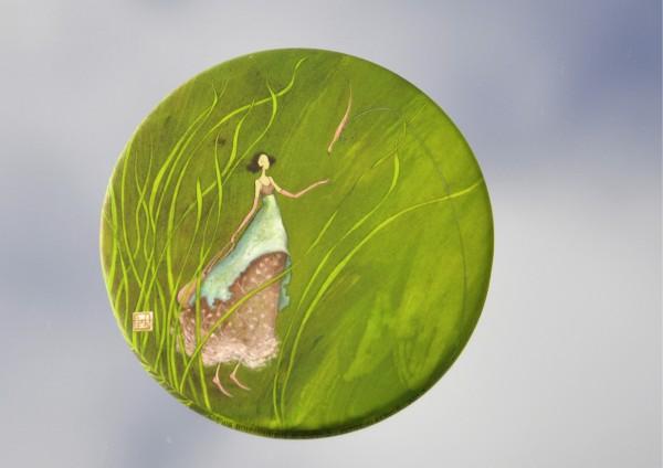 Wiesenelfe - Ø 8,8 cm - Magnet