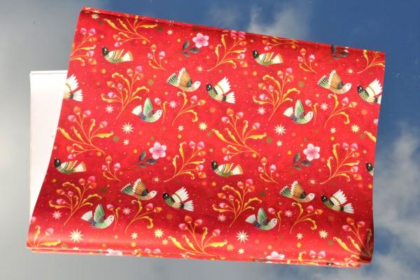 Weihnachtsvogel - Geschenkpapier