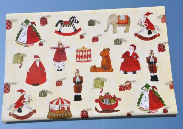 Weihnachtsspiele - Geschenkpapier
