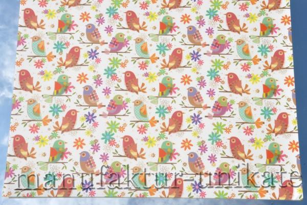 Vogelparade - Geschenkpapier