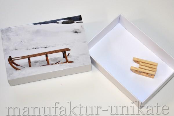 Schachtel - Schlitten