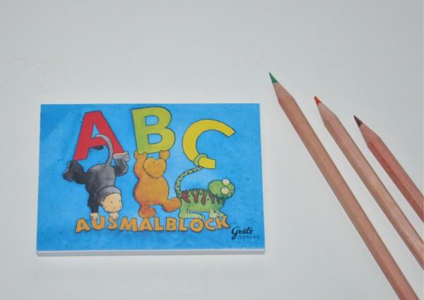 ABC - Ausmalblock