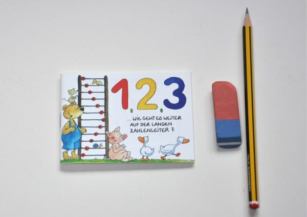 123 - Zahlen lernen - Minibuch