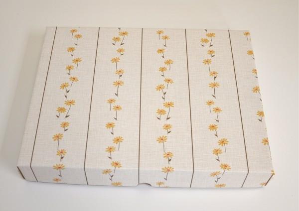 Streublumen - Geschenkschachtel mit Deckel