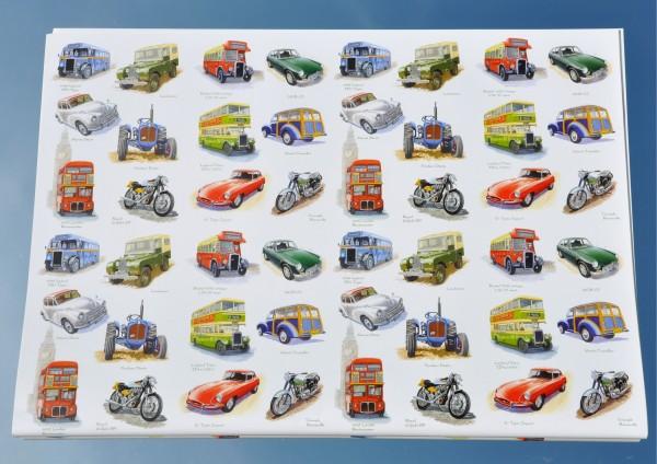 Fahrzeuge / Vehicles - Geschenkpapier