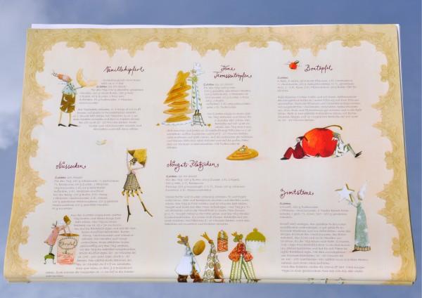 Weihnachtsbäckerei - Geschenkpapier