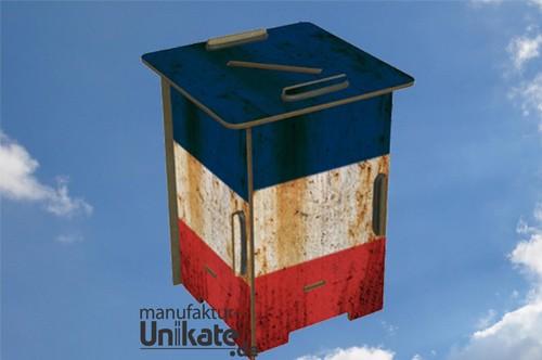 Frankreich Flagge - Twinbox