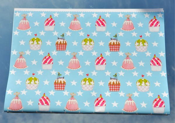 Muffin / Cupcakes - Geschenkpapier