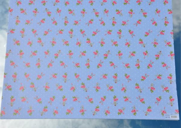 Mini Rosen - Geschenkpapier