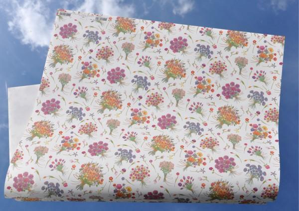 Blumenstrauß - Geschenkpapier