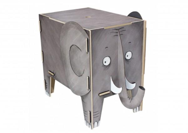 Elefant - Sitztruhe