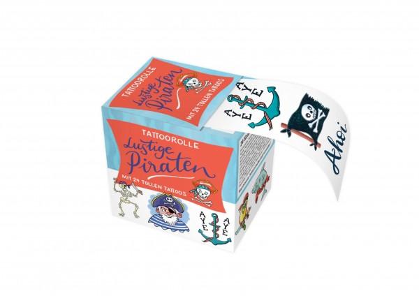 Piraten - Tattoos in der Box - ein ganzer Meter