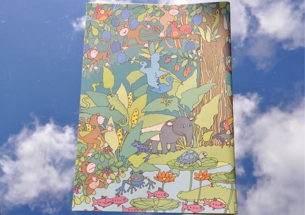 Im Dschungel - Geschenkpapier