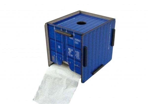 Container - Toilettenpapierhaus in 3 Farben