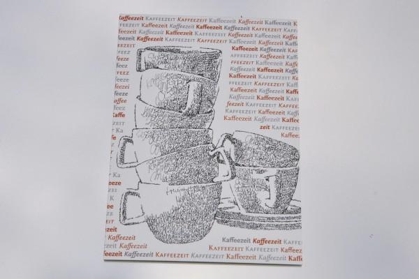 Kaffeezeit - Postkarte