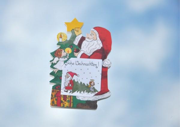 Weihnachtsfest - Geschenkaufklebefigur