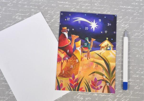 Bethlehem - Adventskalenderkarte