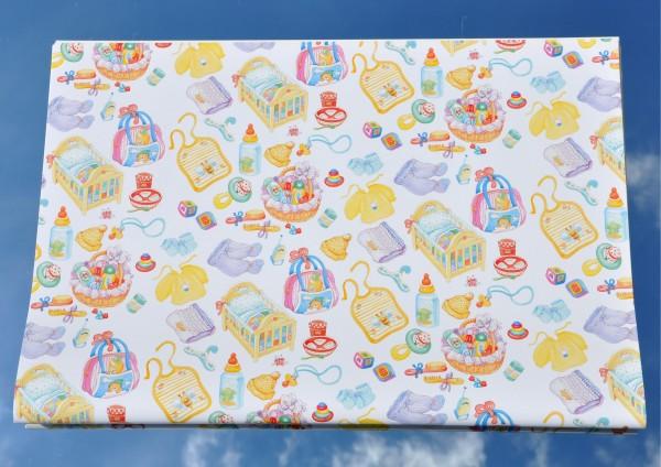 Geburt - Geschenkpapier