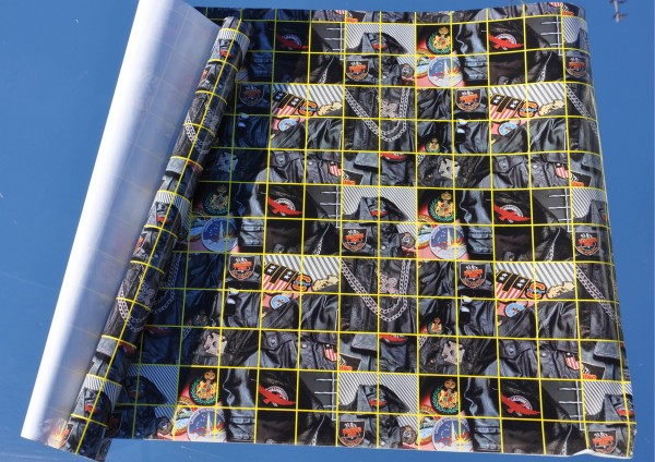 Astronautenjacke - Bucheinschlagpapier