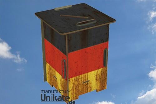 Deutschland Flagge - Twinbox