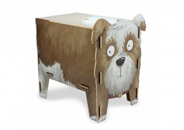 Hund - Sitztruhe