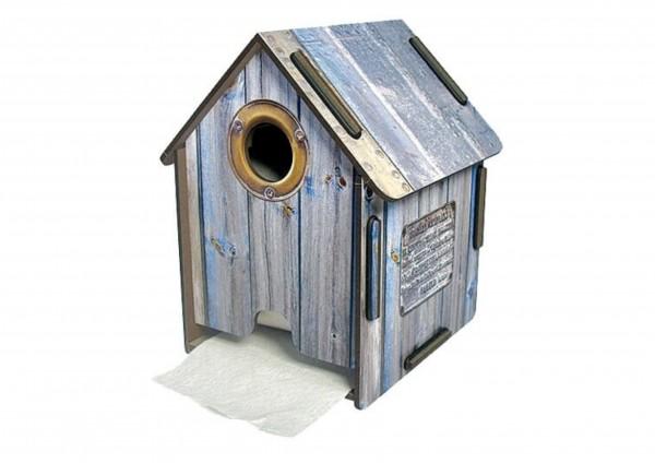 Holzhütte - Toilettenpapierhaus