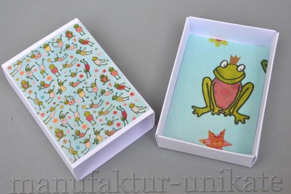 Schachtel - Frosch