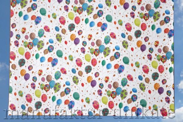 Luftballons - Geschenkpapier