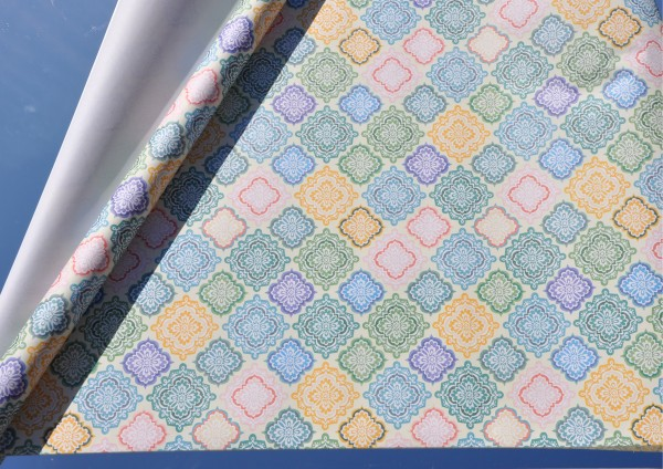 Muster - Geschenkpapier aus 100% Recyclingpapier