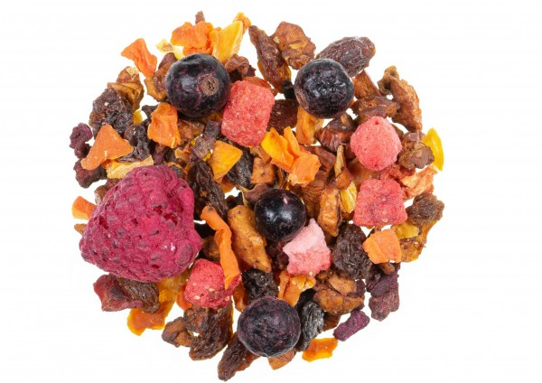 Kindertraum mild - Früchtetee / Erdbeer Himbeer Geschmack