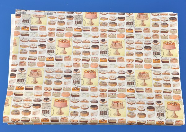 Torten - Geschenkpapier