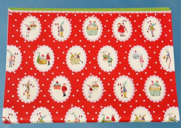Süße Weihnachtszeit - Geschenkpapier