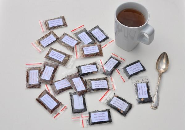 Rooibos Tee kombiniert mit anderen Teesorten - je 1 Tasse
