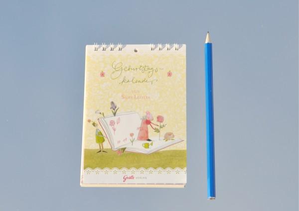 Gartenparadies - Geburtstagskalender DIN A6