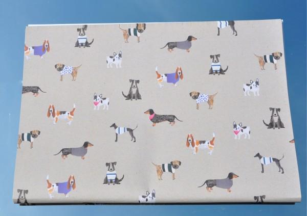 Hunde / Dogs - Geschenkpapier
