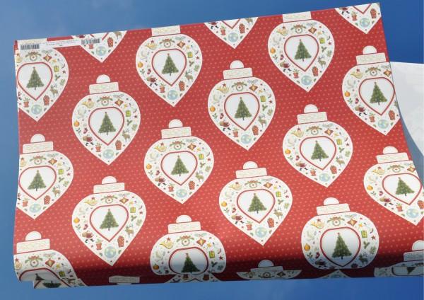 Christbaumkugel - Geschenkpapier