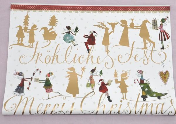 Fröhliches Fest - Geschenkpapier