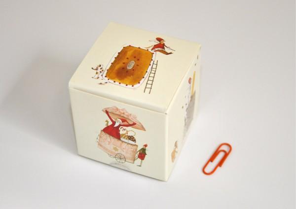 Würfelbox mit 12 Rezepten für die Advents- und Weihnachtszeit