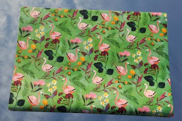 Flamingo - Geschenkpapier