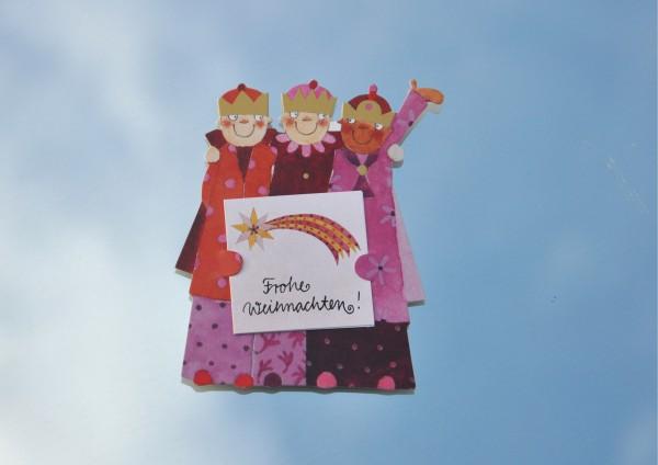 Heilige Drei Könige - Geschenkaufklebefigur