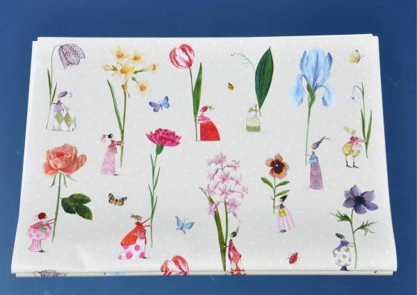 Blumenfrauen - Geschenkpapier