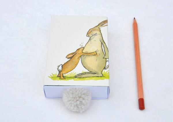 Osterhase Hab´ dich lieb - Geschenkschachtel