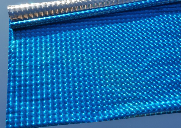 HELLBLAU metallic glänzend - Geschenkpapier auch als Schrankpapier