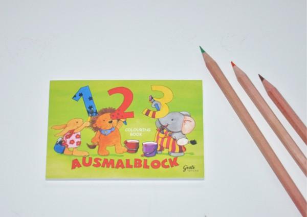 123 - Ausmalblock