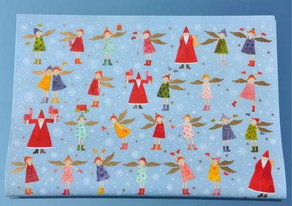 Himmlische Weihnacht - Geschenkpapier