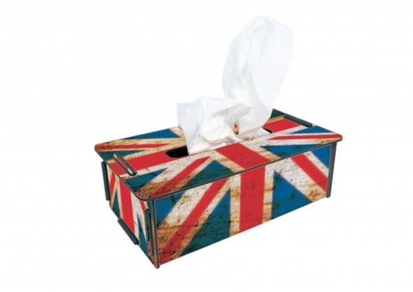 England-Flagge - TaschentuchBox