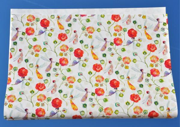 Rosenzauber - Geschenkpapier